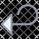 Redo Arrow Left Icon