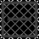 Reduce Minimize Resize Icon
