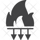 Reduce Risk Fire Icon