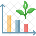 Reduce Cost Reduce Plant Cost Growth Icon