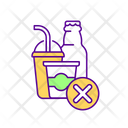 Reduce Fizzy Water Icon