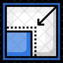 Reduce Size Reduce Size Icon