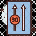 Reduce Speed Icon