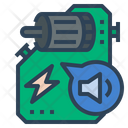 Reduced Noise Engine Sound Icon