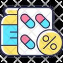 Reduced Prescription Cost Icon