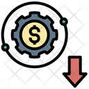 Reducing Loss Business Icon