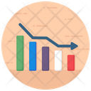 Reduction Business Down Business Chart Icon