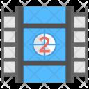 Frame Film Reel Icon