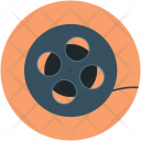 Reel Camera Audiovisual Icon