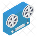 Reel Recording Magnetic Tape Audio Tape Icon