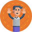 Basketball Referee Basketball Game Referee Icon