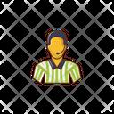 Referee Soccer Man Icon