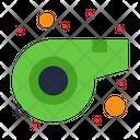 Referee Whistle Sound Icon