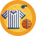 Jersey Whistle Basketball Icon
