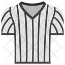 Referee Uniform Referee Jersey Sports Clothing Icon