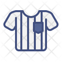 Referee Uniform Soccer Icon