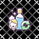 Refillable Shampoo Bottle Icon