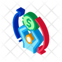 Financial Replay Refinance Icon