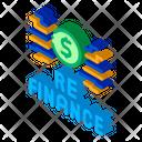 Refinancing Financial Mortgage Icon
