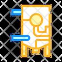 Refiner Equipment Color Icon