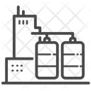 Refinery Oil Depot Factory Icon