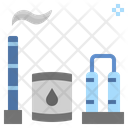 Refinery Industry Petroleum Icon