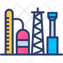 Refinery Storage Oil Icon