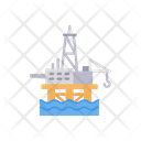 Refinery Factory Production Icon