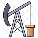 Refinery Gas Drilling Icon