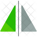 Mirror Reflect Scaling Icon