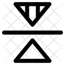 Reflect Transform Horizontal Icon
