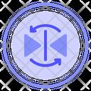 Reflection Geometry Internet Icon