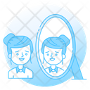 Reflection Image Appearance Icon