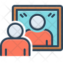 Reflection Mirror Image Icon