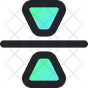 Reflection Background Vertical Icon