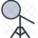 Reflector Stand Reflactor Photo Icon