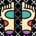 Reflexology Foot Massage Feet Icon