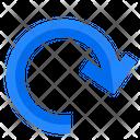 Refresh Curve Pointer Icon