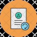 Refresh Update Document Icon