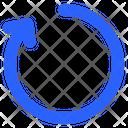Rotate Clockwise Refresh Icon