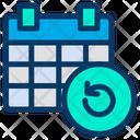 Refresh Calender Schedule Icon