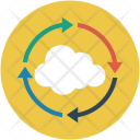 Cloud Online Refresh Icon