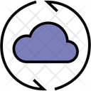 Cloud Computing Weather Icon