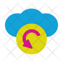 Refresh Cloud Refresh Connection Icon
