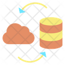 Irefresh Refresh Cloud Database Reload Cloud Server Icon
