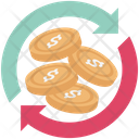 Refresh Currency Currency Rate Icon