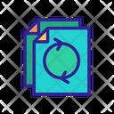 Document Contour File Icon