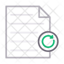File Reload Document Icon