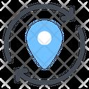 Update Refresh Location Redirection Icon