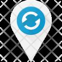 Refresh location pin Icon